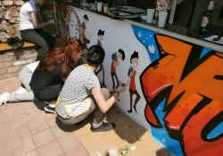 Grafiti na Ljetnoj